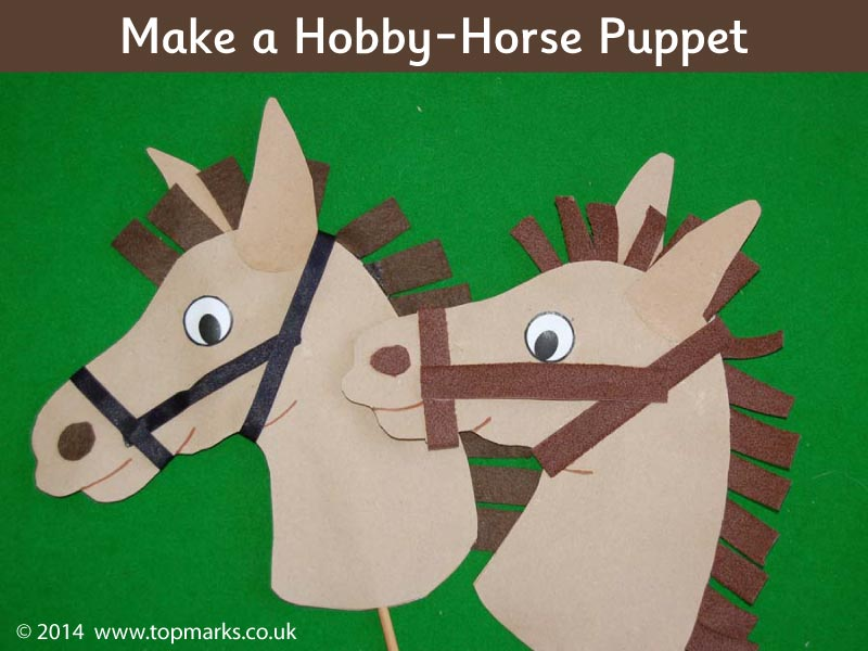 Make your own Chinese New Year Horse Puppet