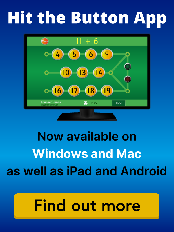 Hit the Button Maths app now available on iPad and Android