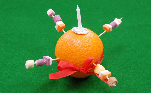 How to Make a Christingle