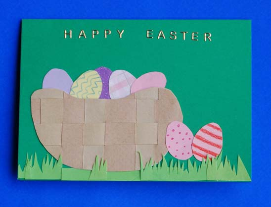 Make an Easter Basket Card