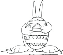 Easter Bunny Colouring