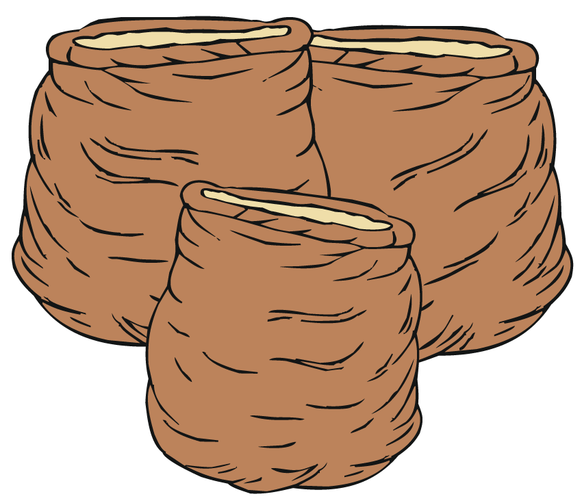 Sacks of Corn