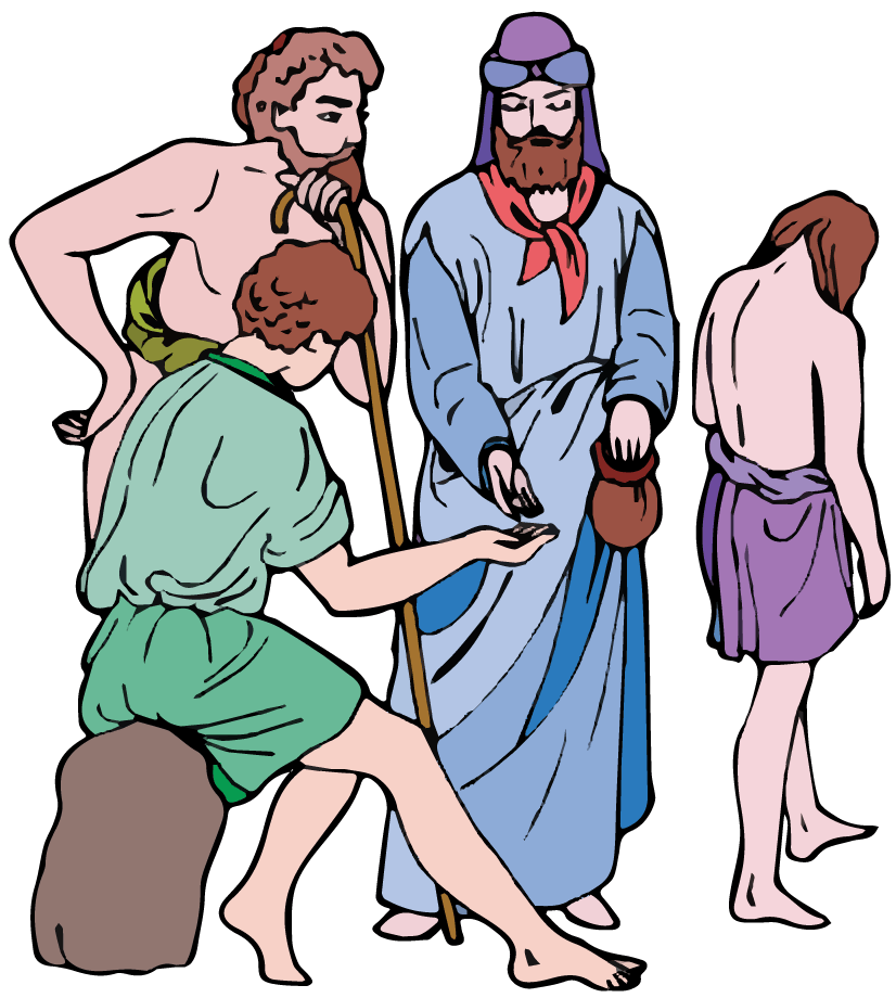 Joseph was sold to the merchants