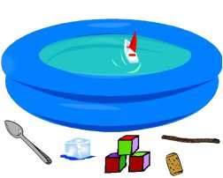Floating and Sinking Activities