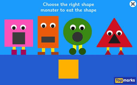 Featured Game: Shape Monsters