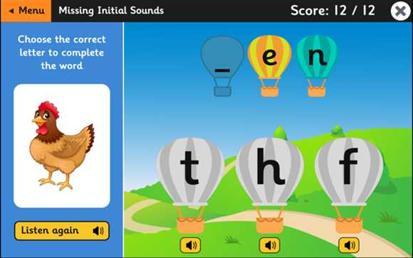 Featured Game: Balloon Phonics