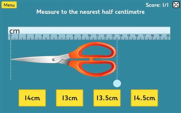 Featured Game: Measuring in Cm