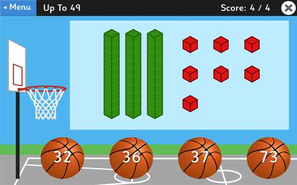 Featured Game: Place Value Basketball