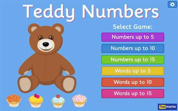 Featured Game: Teddy Numbers
