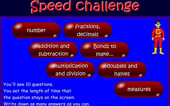 Featured IWB: Speed Challenge