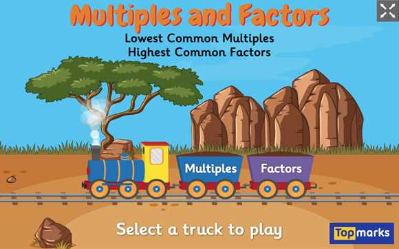 Featured Game: Multiples and Factors