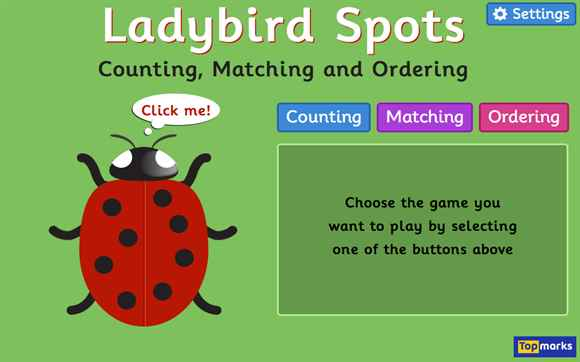 Featured Game: Ladybird Spots