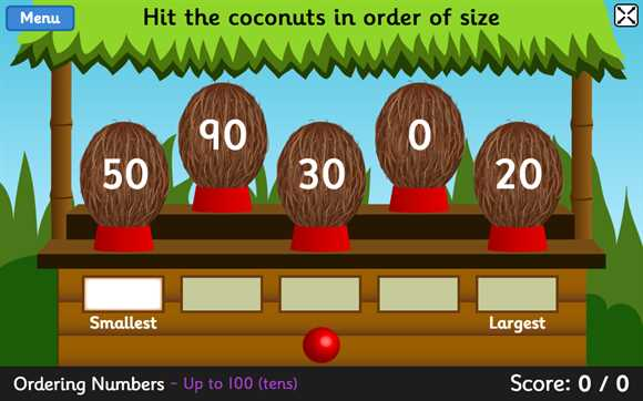 Featured Game: Coconut Ordering