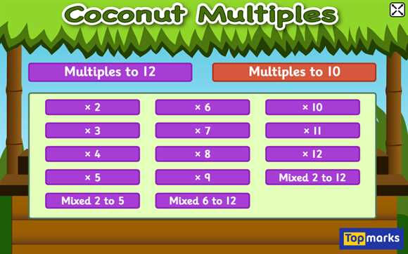 Featured Game: Coconut Multiples