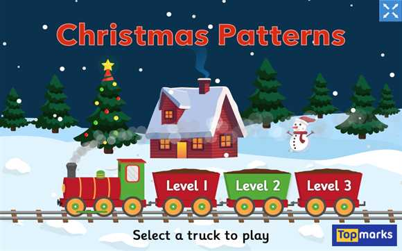 Featured Game: Christmas Patterns