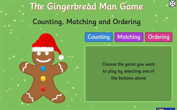 Featured Game: Gingerbread Man Game