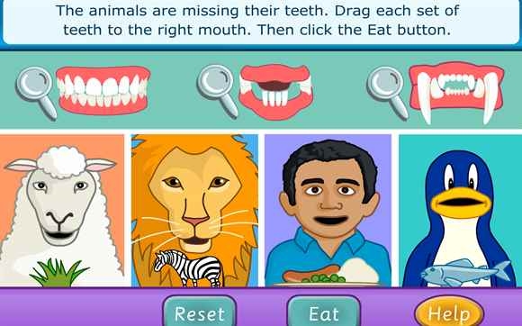 Featured Game: Teeth and Eating
