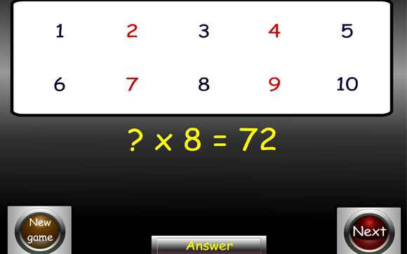 Featured IWB: Bingo - Multiplication and Division