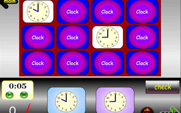 Featured Game: Match the Times