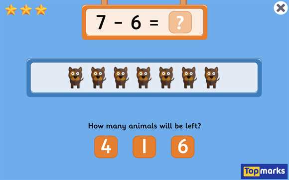Featured Game: Subtraction to 10