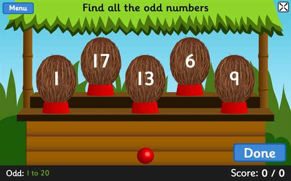 Featured Game: Coconut Odd or Even