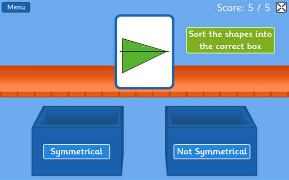 Featured Game: Symmetry Sorting