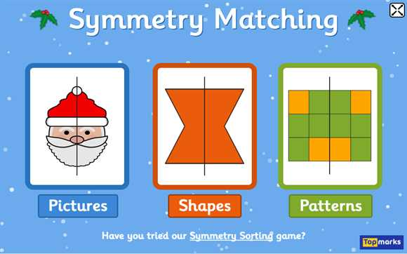 Featured Game: Symmetry Matching