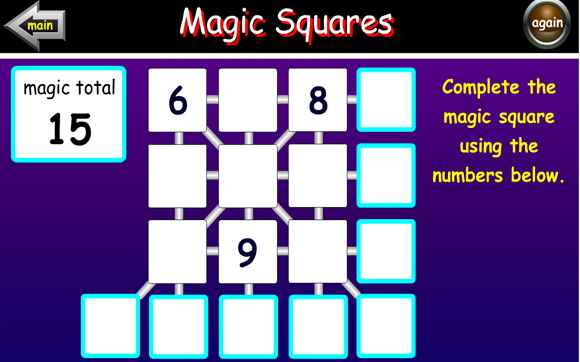 Featured Game: Magic Squares