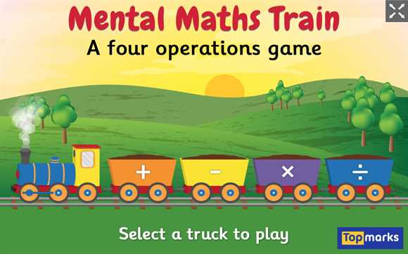 Featured Game: Mental Maths Train