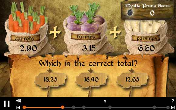 Featured Game: Decimals