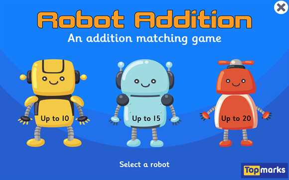 Featured Game: Robot Addition