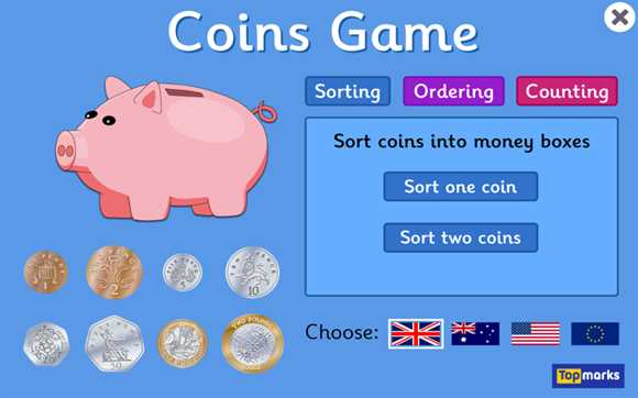 Featured Game: Coins Game