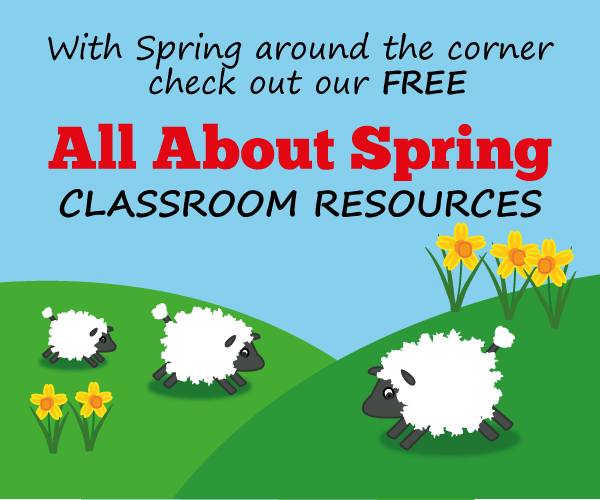 With Spring around the corner check out our free All About Spring classroom resources