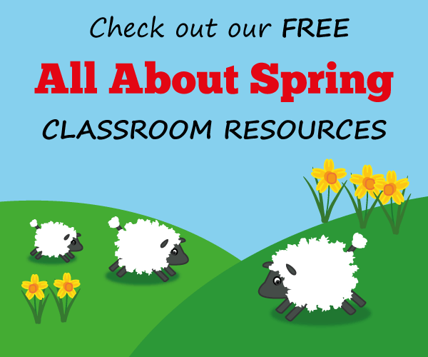 Check out our free All About Spring classroom resources