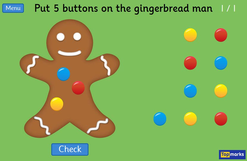 Gingerbread Men Game